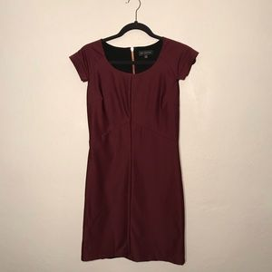 MM Couture maroon dress